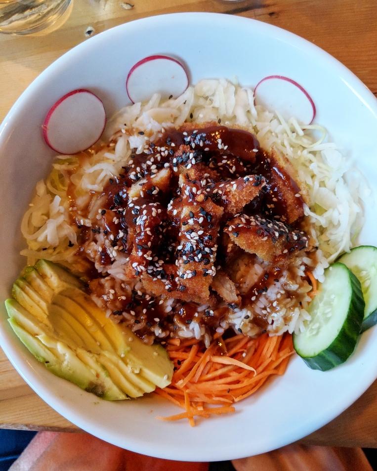 Japanese Rice Bowl - The Shop, Troy NY